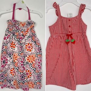 Set of two Gymboree toddler dresses size 4T